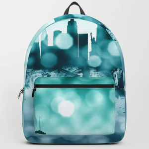 Handbags - Las Vegas Urban Skyline Laptop Bag Backpack